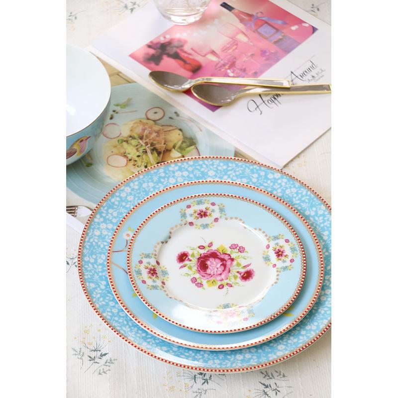 【現貨】荷蘭 Pip studio Early Bird 餐具 碟/盤/碗 藍色