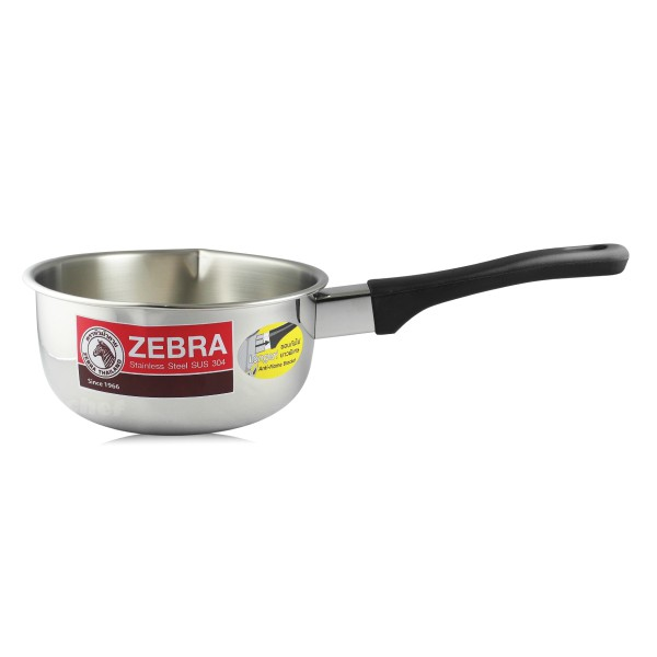 斑馬牌不鏽鋼雪平鍋湯鍋牛奶鍋單把鍋16cm/18cm/20cm-大廚師百貨