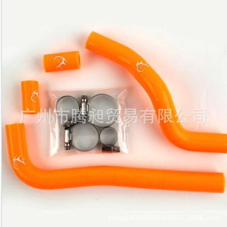 [現貨發送]適用CRF150 箱硅膠管/防爆高溫水管 水箱散熱管 07-15年