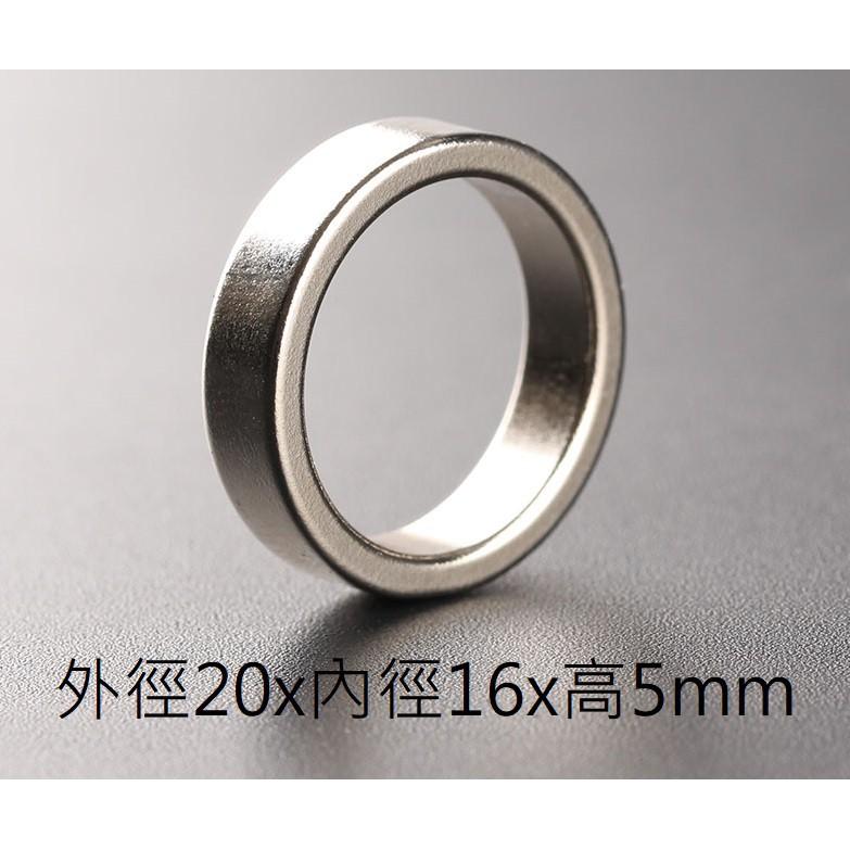 【電筒發燒友】手電筒尾部磁環 外徑20x內徑16x高5mm Convoy S2+適用尾磁 磁鐵 磁戒 圓磁鐵 磁鐵環