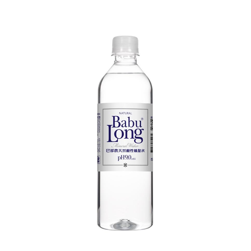 巴部農天然鹼性水 510ML(24入/每箱)