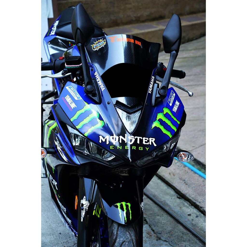 Moto橘皮 R3 v1 Monster 鬼爪 ROSSI 羅西 全車貼紙 Yamaha r15 mt15 mt03
