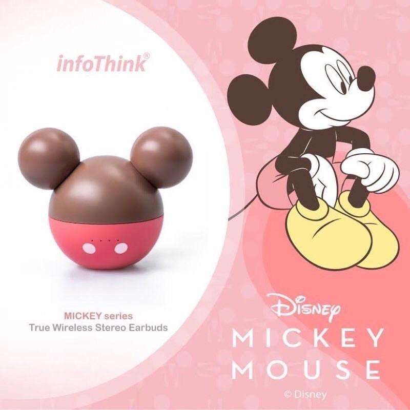 7-11 情人節💕迪士尼 米奇 真無線藍芽耳機