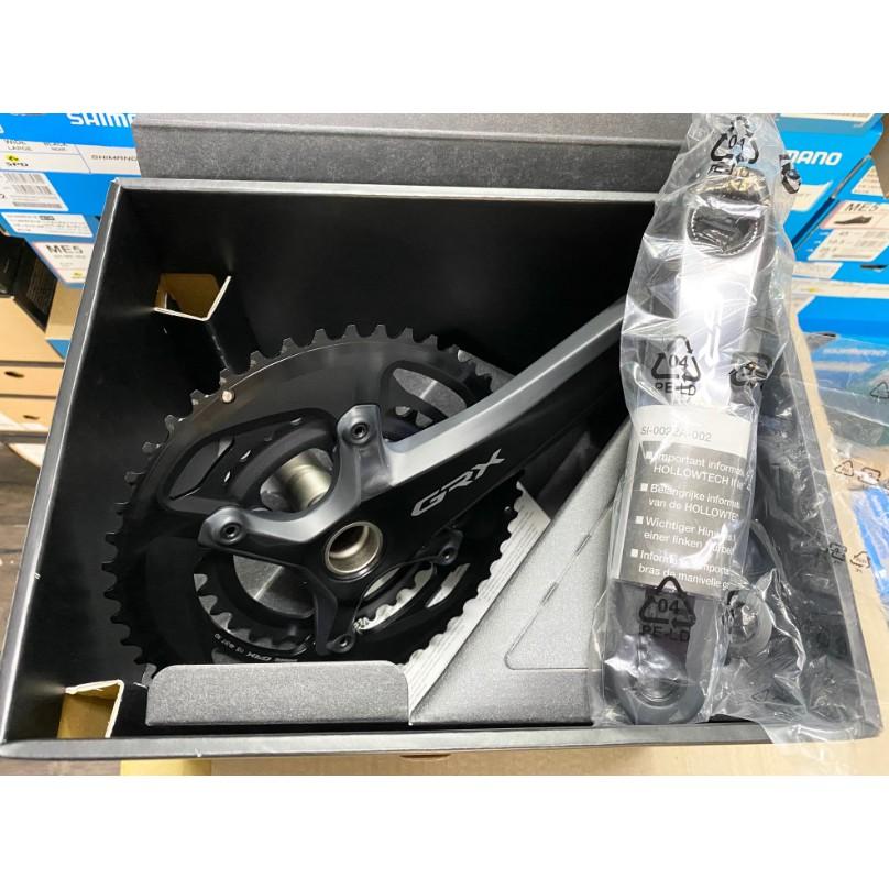 三重新鐵馬 Shimano GRX FC-RX810 48-31T 2x11速大齒盤 48/31大盤