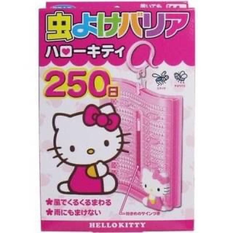 日本製 Hello kitty 防蟲好幫手防蚊掛250天