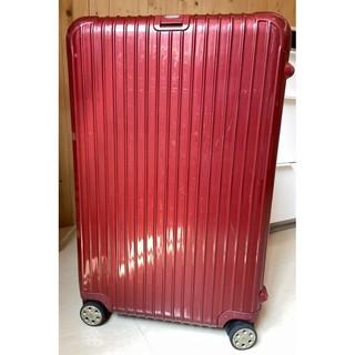 二手 Rimowa 行李箱 Salsa Deluxe 29吋 86公升 鋼鐵紅 新北市