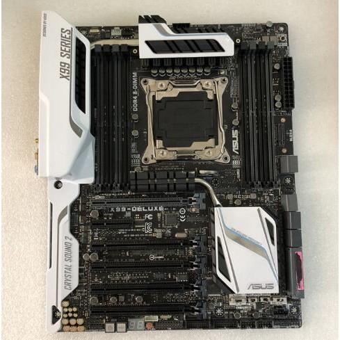 【現貨】華碩 X99-DELUXE X99主機板DDR4 X99-E-10G WS萬兆網卡X79主機板