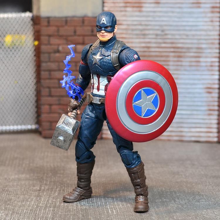 正版Marvel Legends 美國隊長錘盾美隊 復仇者聯盟4 終局之戰手辦