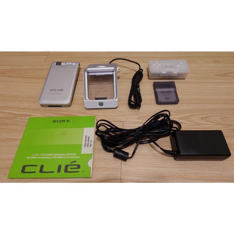 懷舊電子設備 SONY Clie PEG-NX70V PDA Palm OS 掌上電腦 日本製