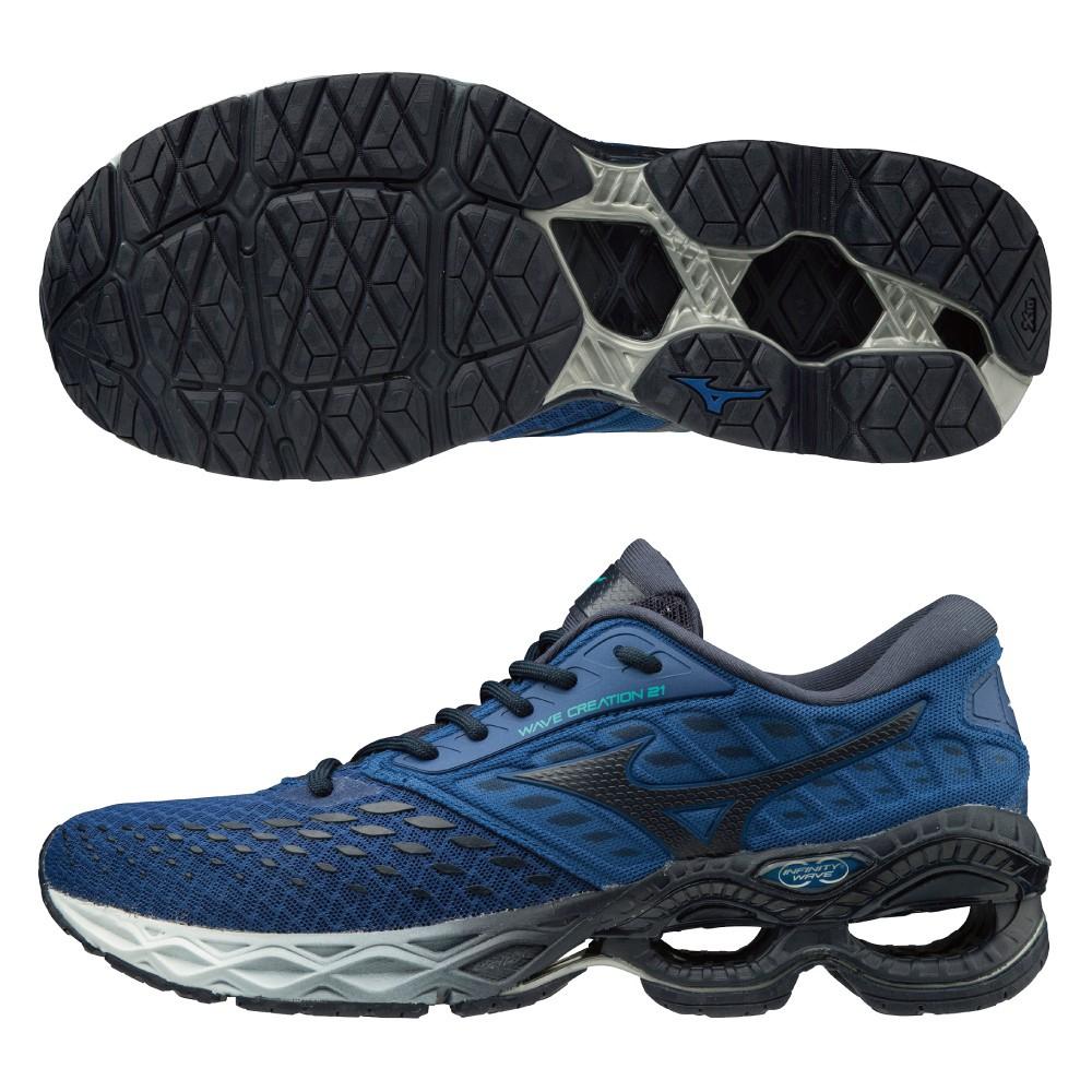 美津濃慢跑鞋 MIZUNO WAVE CREATION 21 男款 慢跑鞋 運動鞋 休閒鞋 男鞋 J1GC200110