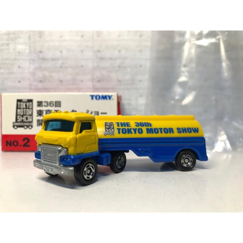 TOMICA NO.2東京開催紀念 油罐車 聯結車 日野(1)