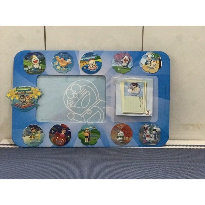 7-11 哆啦a夢立體磁鐵相框適合收藏擺飾