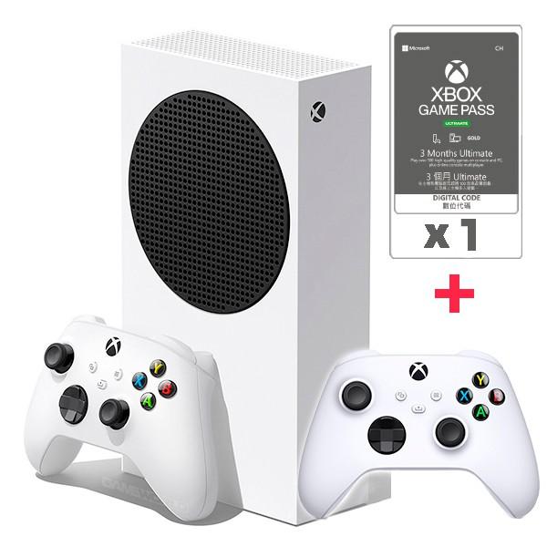 Xbox Series S + XGPU3個月x1 + 新版白控制器x1 / 無光碟機版 /台灣公司貨