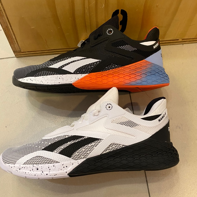 🔹yuyu🔹 reebok男生訓練鞋 Nano X 黑白EH3094 藍橘EF7298 crossfit 重訓鞋