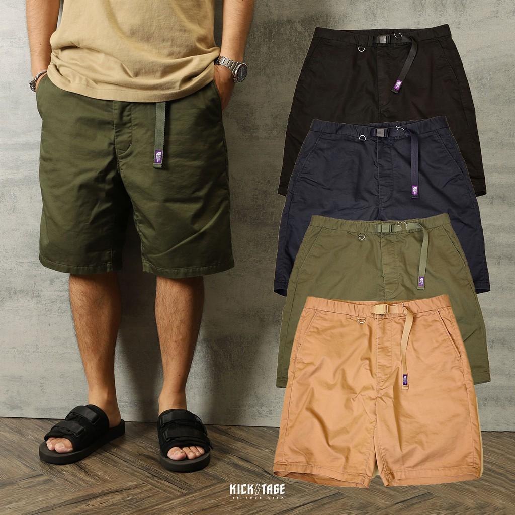 KS▸21SS THE NORTH FACE Stretch Twill Shorts 紫標 短褲【NT4102N】日本