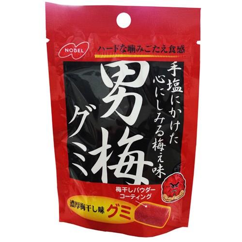 諾貝爾男梅軟糖38g【Tomod's】