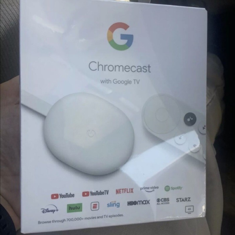 台灣現貨第四代Google Chromecast with Google TV 4K