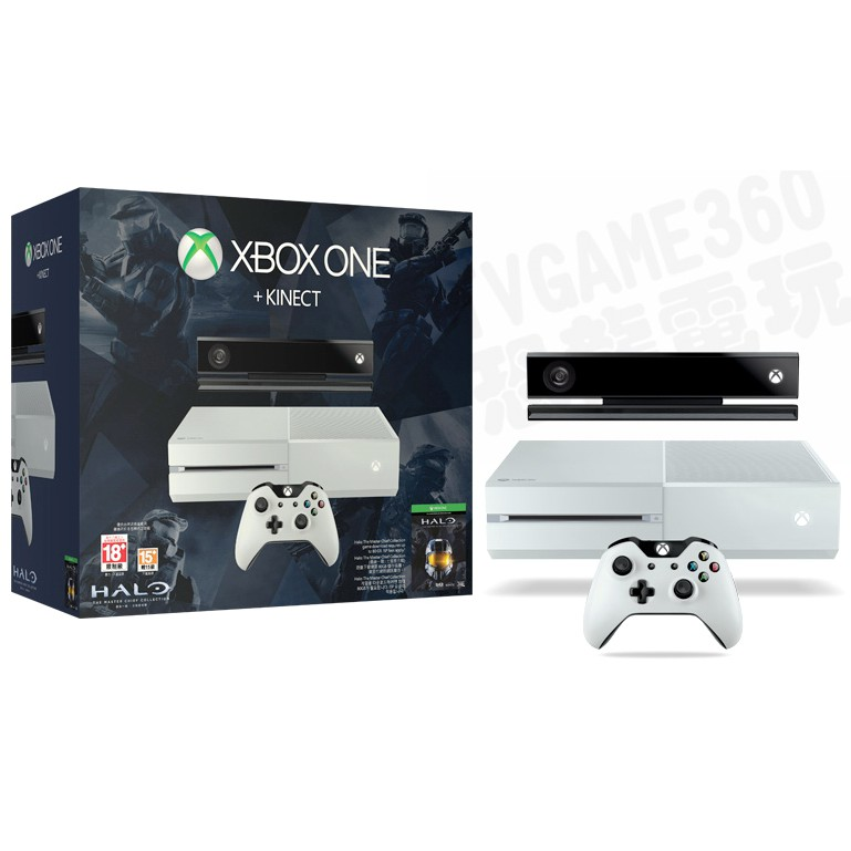 【二手主機】微軟 XBOXONE XBOX ONE X 500G 主機 同捆 KINECT2.0 白色【台中恐龍電玩】