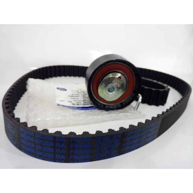 福特FOCUS 1.6 12.6- FIESTA 1.6 06- 時規惰輪 皮帶 正時 套餐組 正廠件