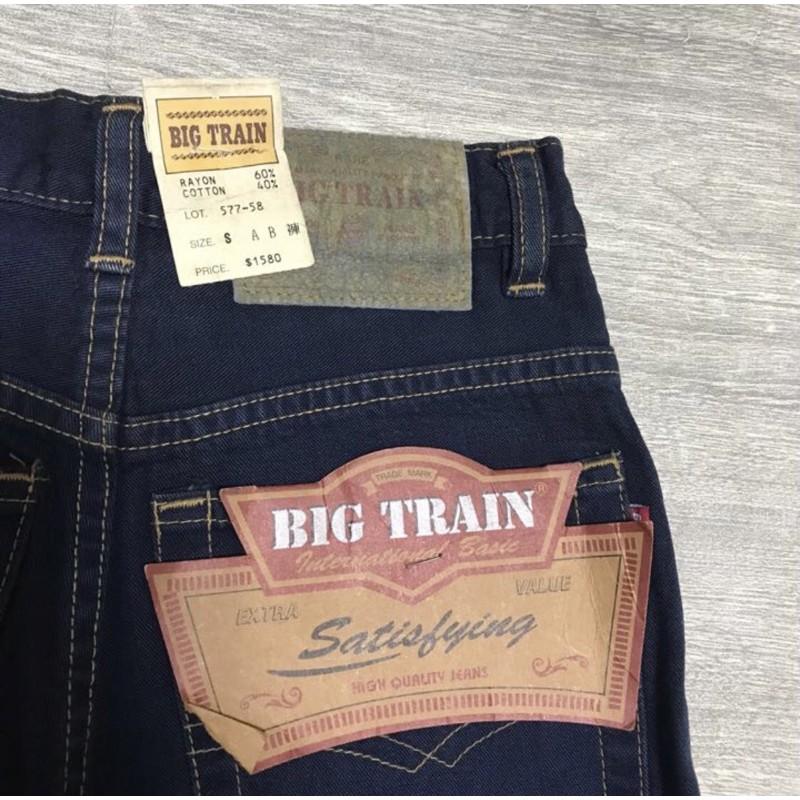 新品BIG TRAIN 女 牛仔褲👖