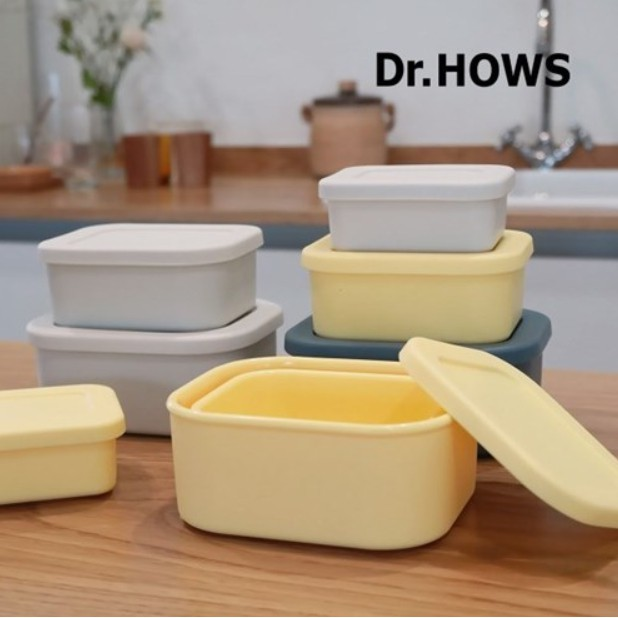 韓國製 │ DR.HOWS環保矽膠密封容器(小+中+大)