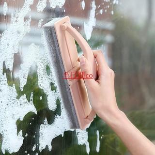 【半日閒co】日式帶手柄 摺疊刷 瀝水刷 強力去汙瓷磚玻璃清潔刷 海綿刷子 臺中市