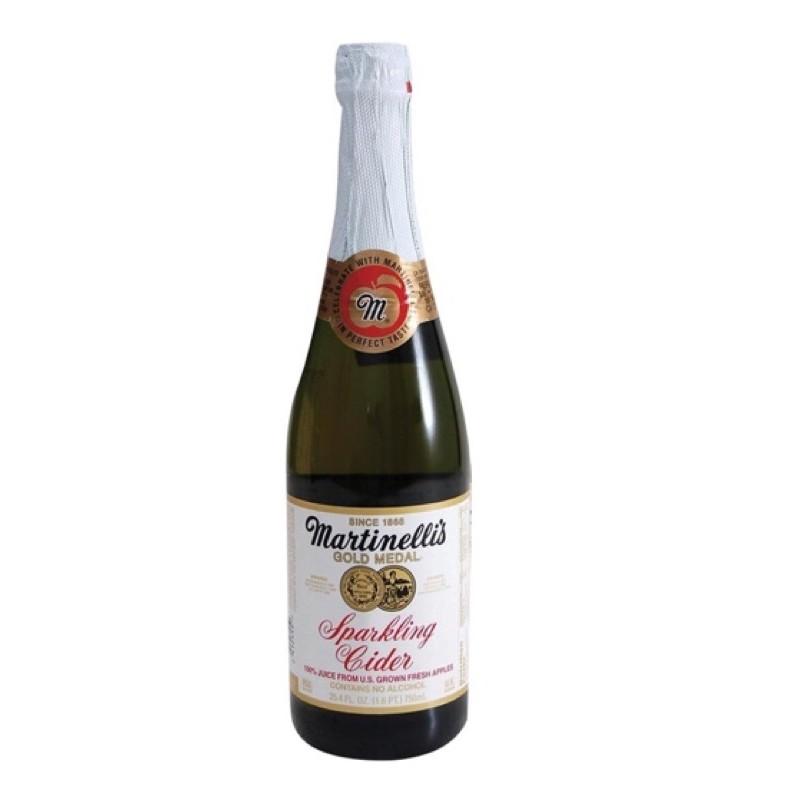Martinelli's 氣泡蘋果汁 750毫升 X 4入 《好市多Costco線上代購》