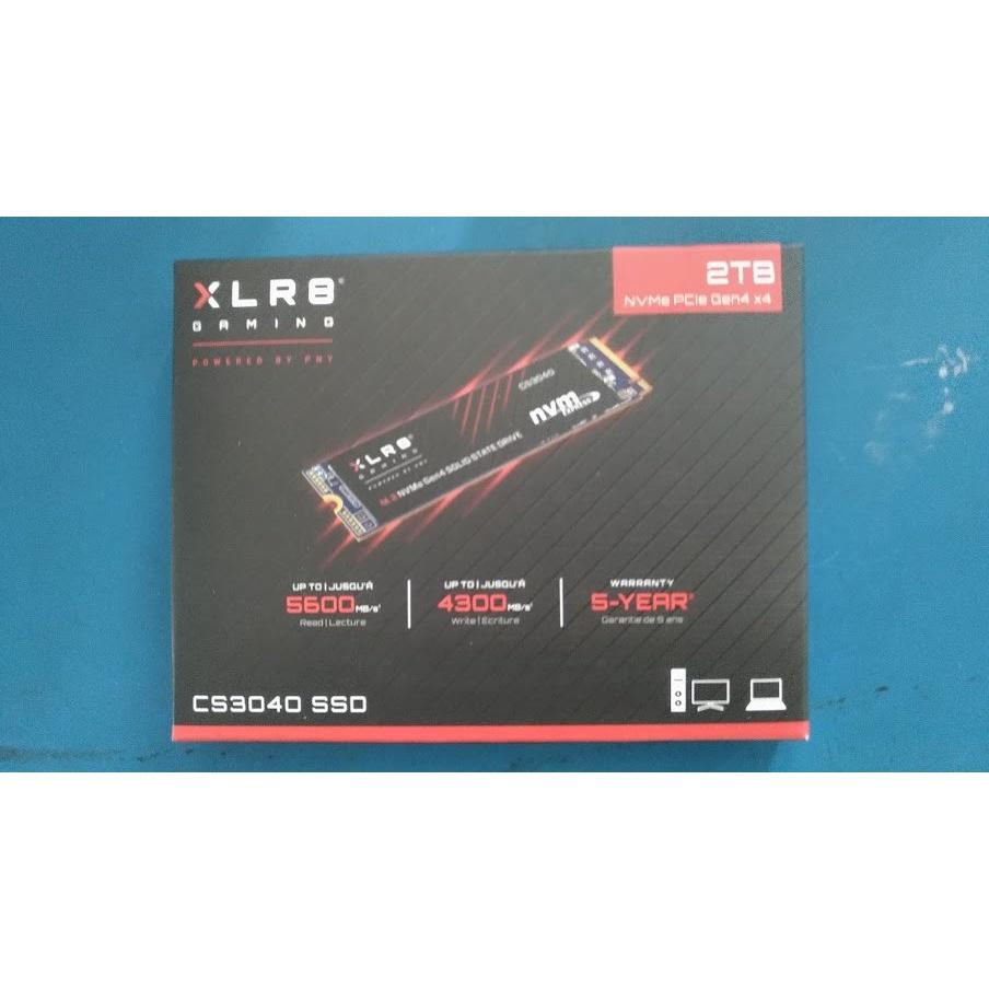 可刷卡 可取付 全新必恩威 PNY XLR8 CS3040 PCI-E 4.0x4 Gen4 SSD 2TB 1TB現貨