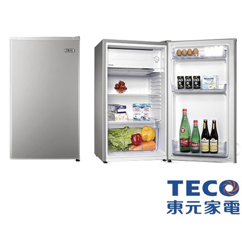 【TECO東元】99公升單門小冰箱(R1092N) //125公升雙門小冰箱(R1303W)//二手冰箱現貨