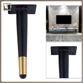 【家居賣場】DIY鐵製家具腿沙發腳凳衣櫃凳子w/ 安裝板