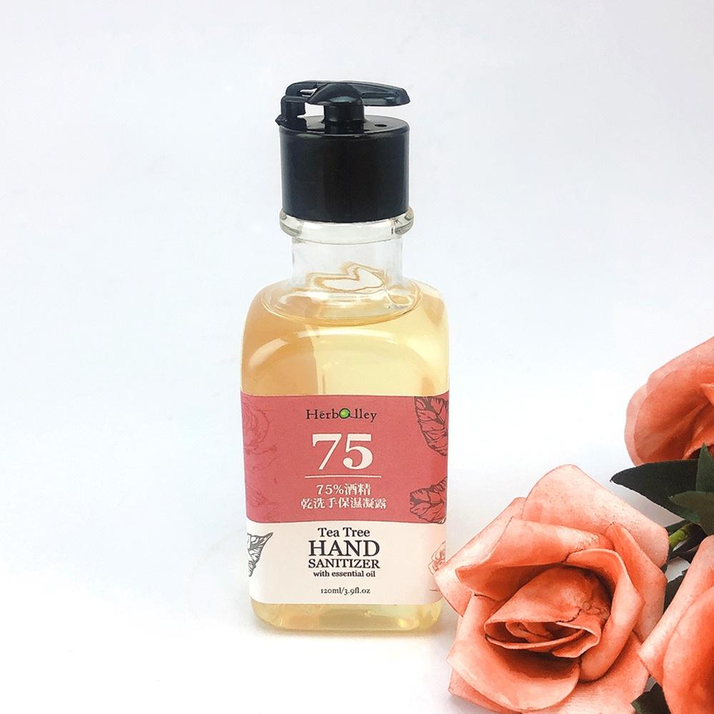 SOFER 75%酒精乾洗手保濕凝露 120mL/玫瑰香