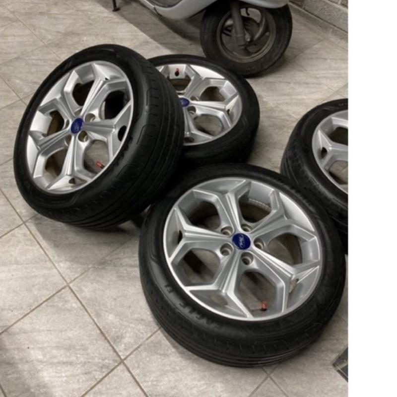 Ford Focus mk2 mk3 mk3.5原廠輪框 雪花框 鋁圈 四個$6000
