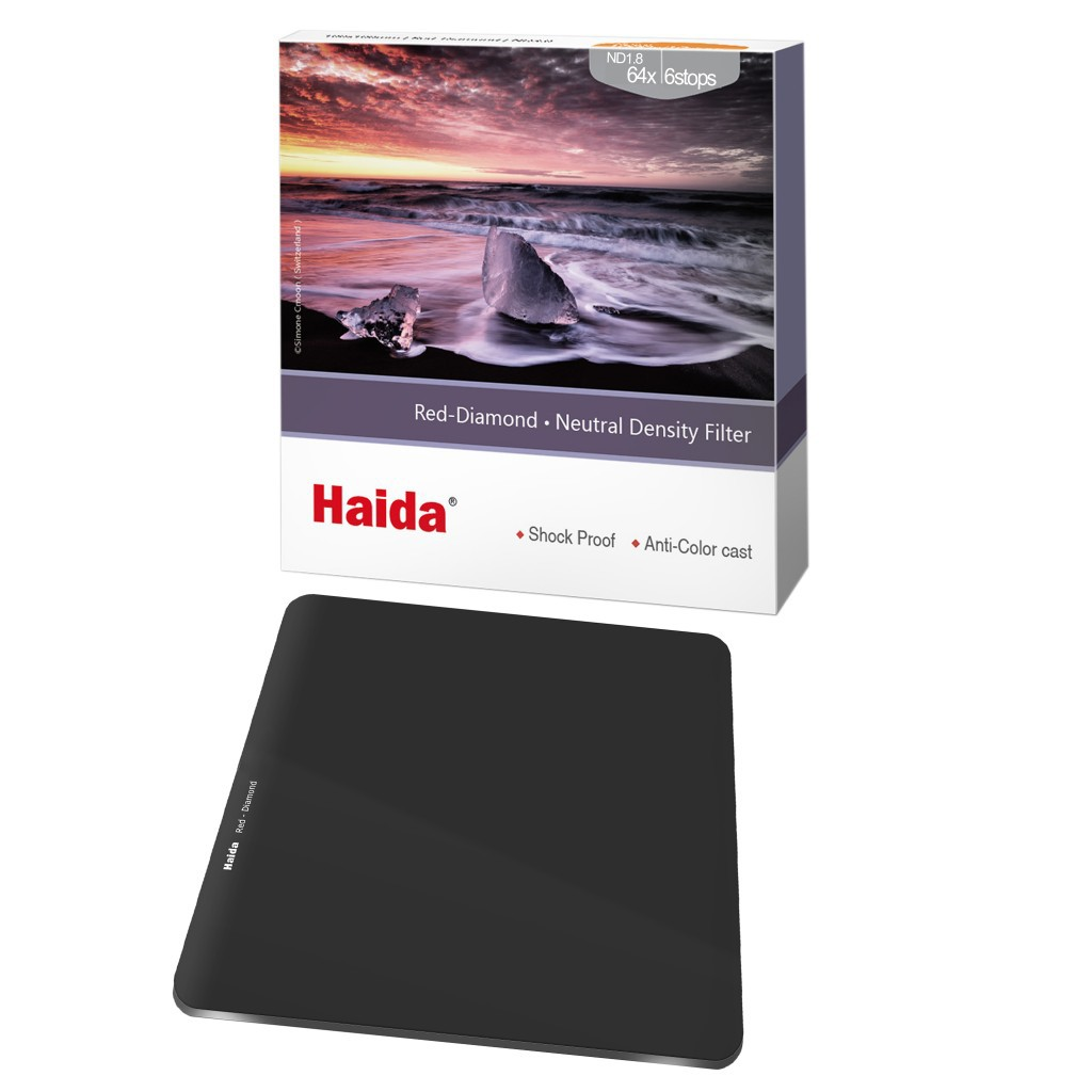 Haida 日全食系列 ND64 100mm 方形减光鏡 HD4270 ND1.8 相機專家 [公司貨]