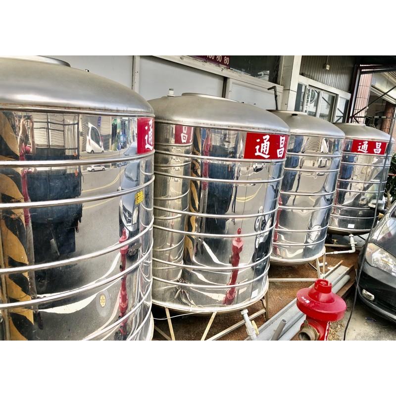 二手厚304白鐵ㄧ噸半水塔/兩頓水塔/五頓不鏽鋼水塔