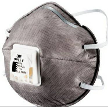 【BBT精品雜貨】3M 口罩 9913V 碗型 防護口罩 附呼吸閥款 (單售)