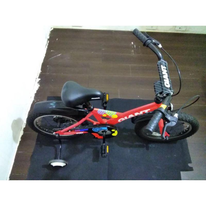 捷安特16吋兒童腳踏車(中古)