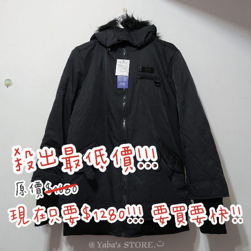 限時特價❗❗BIG TRAIN 羅紋裡毛連帽舖棉外套-女(黑) 現貨