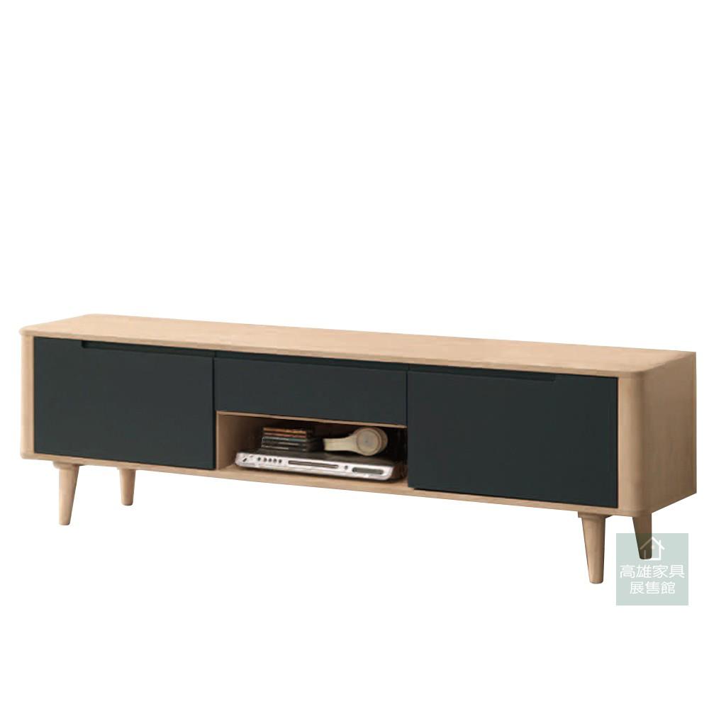 亞爾維斯白色橡木5.6尺電視櫃/TV櫃/收納櫃/長櫃/客廳組合 HT072-2
