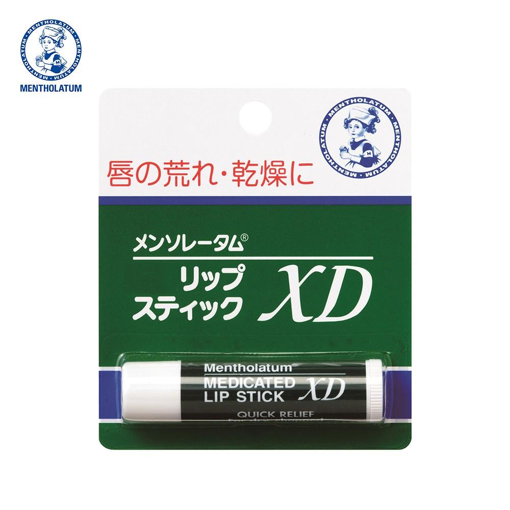 日本原裝 MENTHOLATUM 曼秀雷敦 XD 保濕 薄荷護脣膏-4g 護脣膏 潤脣膏 護唇膏