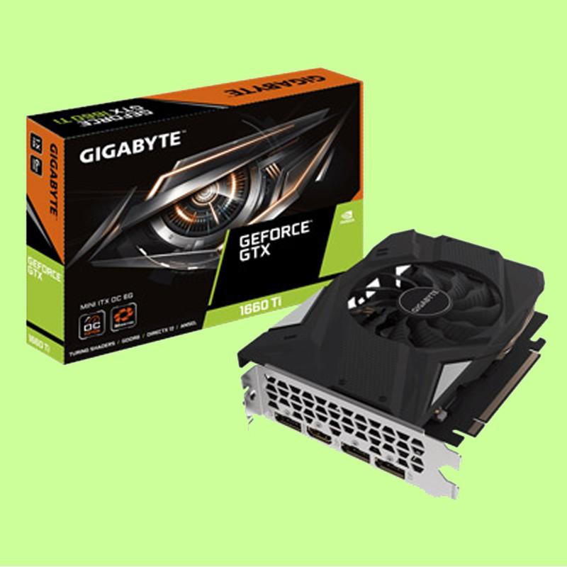 技嘉 GeForce GTX 1660 Ti MINI ITX OC 6G 顯示卡 3年保