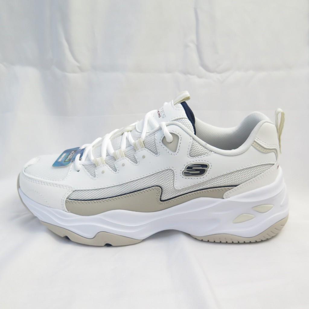 Skechers D LITES 4.0老爹鞋 運動鞋 休閒鞋 男款 237225OFWT 奶茶色【iSport愛運動】