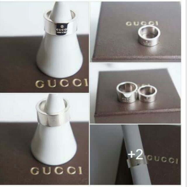 Gucci928純銀戒指