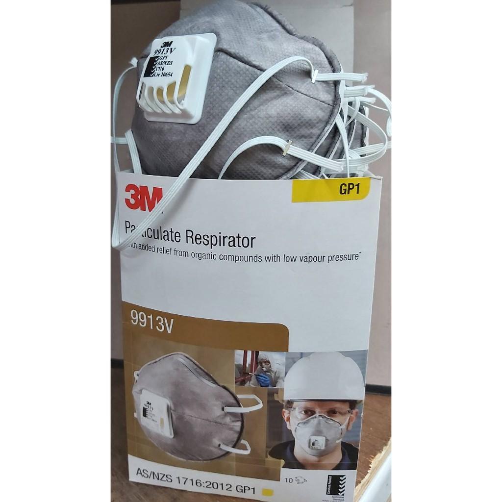 ♚雄發油漆♚3M 9913V 呼氣閥口罩 防空汙