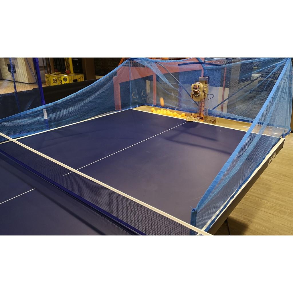 二手超級乒皇第五代乒乓球發球機,拍場cp值最高桌球發球機(詳說明),用不到10次,還有100顆練習球,買到賺到.