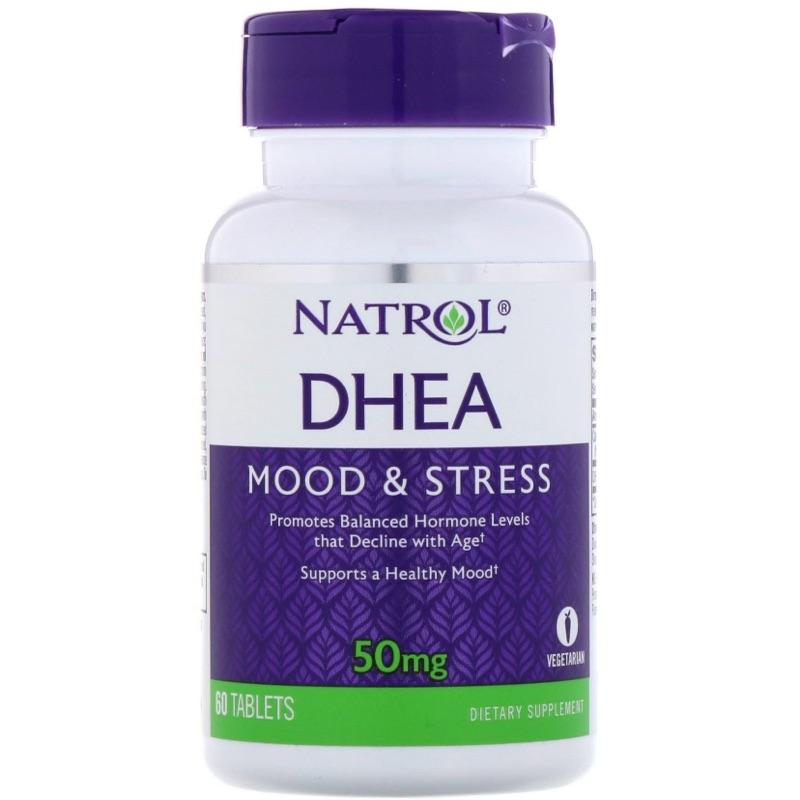 [三罐免運] [現貨] Natrol DHEA 脫氫表雄酮 50mg 60顆