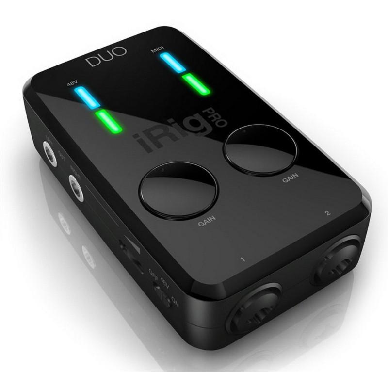 IK iRig PRO DUO iOS 安卓 PC MAC 吉他 Bass 鍵盤 MIDI 錄音介面 [分期免運]