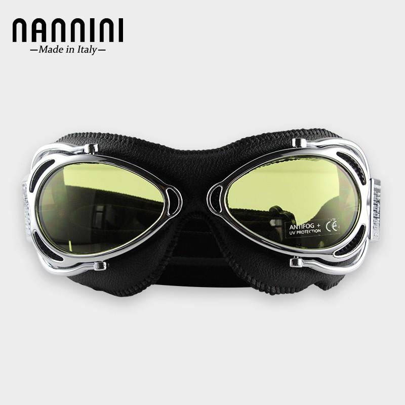 意大利進口nannini越野摩托車風鏡 機車騎行防風防沙護目眼鏡
