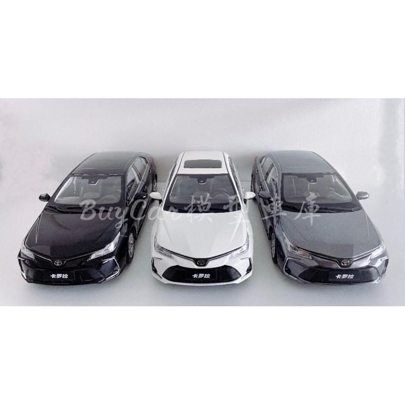 BuyCar模型車庫 1:18 Toyota Altis 12代 模型車 任一顏色歡迎詢問