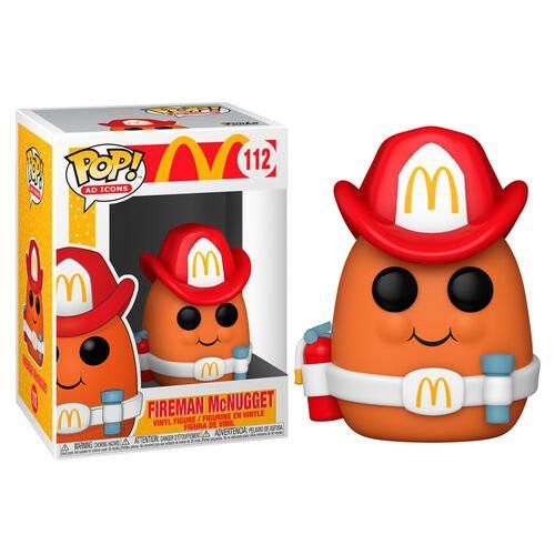 {克拉克玩具}FUNKO POP McDonald's 麥當勞 消防員雞塊 112