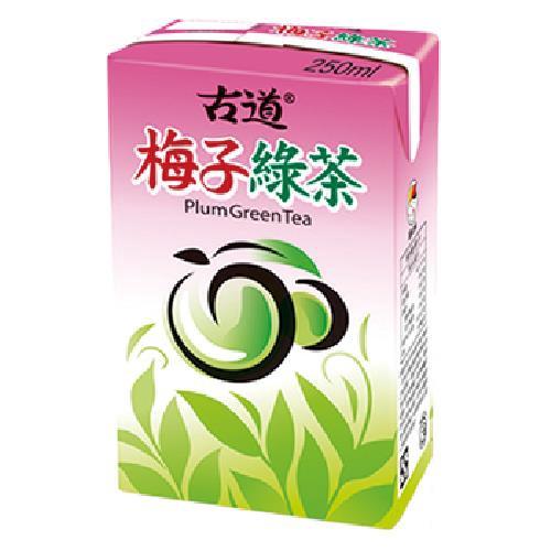 古道 梅子綠茶(300ml*6包)[大買家]